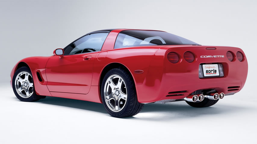 C5 Chevrolet Corvette with Borla Exhaust