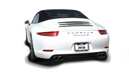 Porsche 991 Exhaust Systems
