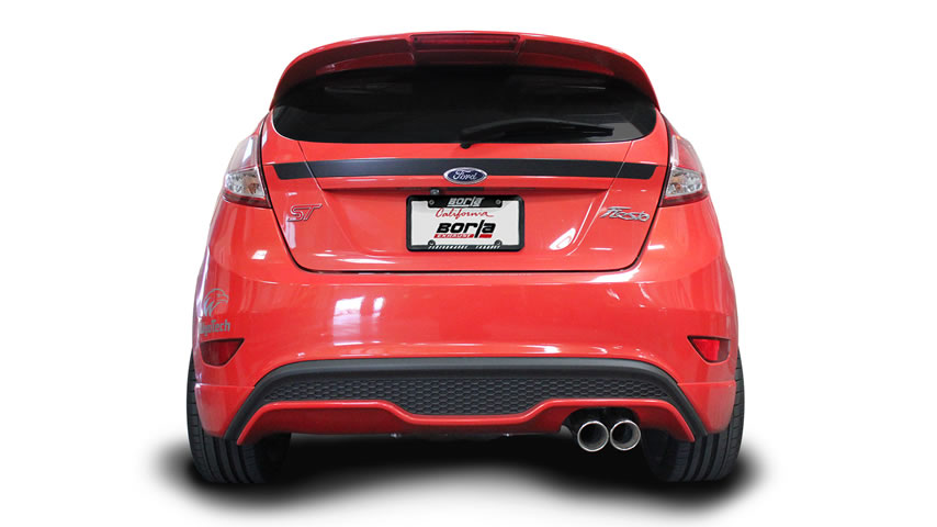 Ford Fiesta with a Borla Cat-Back Exhaust