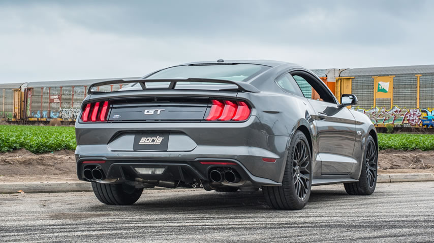 2018 Ford Mustang GT with Borla Exhaust