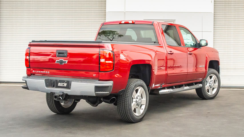 2019 GMC Sierra 1500 with Borla Cat-Back Exhaust