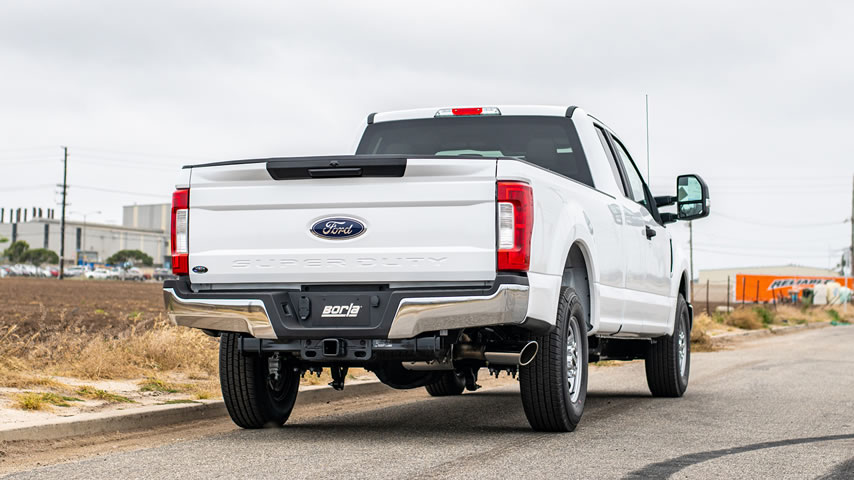 Ford F-250 with a Borla Cat-Back Exhaust
