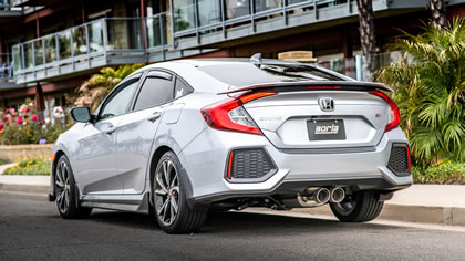 Honda Civic Si with Borla Cat-Back Exhaust System