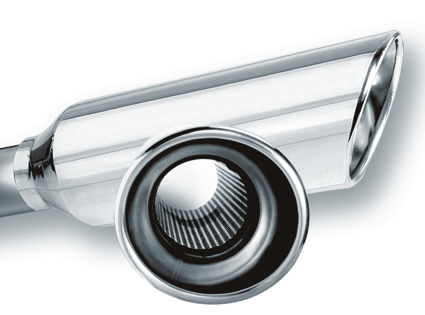 """3/"""" Outlet 12/"""" Long Stainless Steel Exhaust Tip Angle Cut 2.25/"""" Inlet"""