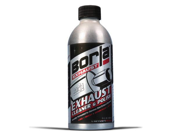 Stainless steel exhaust cleaner and polish