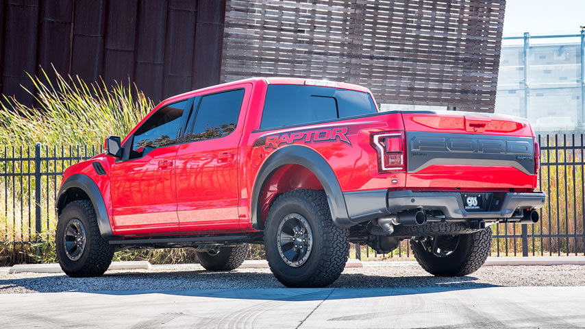 Ford Raptor with Borla Exhaust