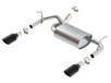 JK/ JKU Wrangler 2 & 4 door 2012-2018 Axle-Back Exhaust ATAK part # 11860BC
