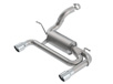 Wrangler JL/ JLU 2018 Axle-Back Exhaust ATAK part # 11957