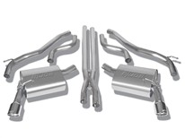 Camaro V6 (except 2013 quad-tip RS) 2010-2013 Cat-Back Exhaust Touring part # 140282