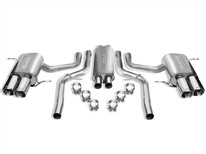 Quattroporte 2007 Cat-Back Exhaust S-Type part # 140288