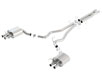 Mustang Shelby GT350 2015-2020 Cat-Back Exhaust ATAK part # 140684