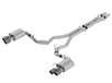 Mustang GT 2018-2020 Cat-Back Exhaust S-Type part # 140745CFBA