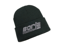 Beanie Hat With BORLA® Logo. One Size Fits All.