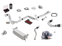 Mustang EcoBoost 2015-2017 Turbocharger Upgrade Kit part # 251010