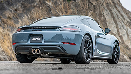 Porsche Cayman Exhaust Systems